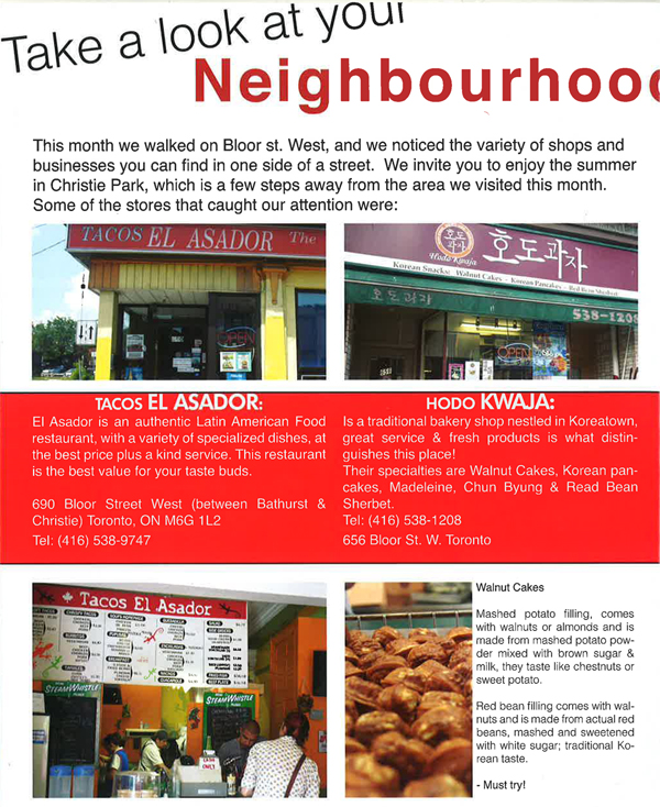 What's Around - Take a Look at Your Neighbourhood